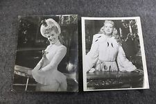 Vintage Movie Wire Still Photo Lot of 2 Betty Grable Actress Collectible