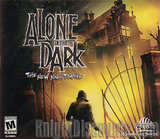 ALONE IN THE DARK 4 The New Nightmare PC RPG Horror Action Game NEW