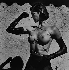 Helmut Newton Sumo Photo 50x70cm Tied up Torso Ramatuelle 1980, Sylvia 1981 Nude