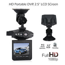 "6 LED 2.5"" Full HD1080P Car DVR Vehicle Camera Video Recorder Dash Cam G-sensor"
