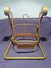 Vintage Johnnie Walker Black Label Pouring Cradle Bottle Display