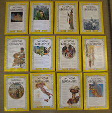 National Geographic Magazine 1961 Complete Year 12 Issues