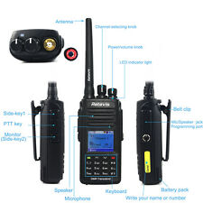 GPS DMR Digital walkie-talkie Retevis 5W UHF 1000CH e PMR446 radio bidirezionale
