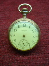 AMERICAN WALTHAM POCKET WATCH WITH TRAVELER MVMT. - PARTS OR REPAIR