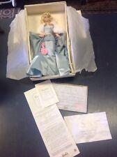 BARBIE SILKSTONE FASHION MODEL DELPHINE #1 COA