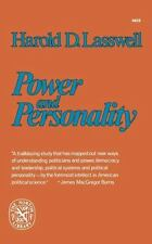 Power and Personality by Harold D. Lasswell (1976, Hardcover)