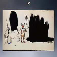 "Jean Michel Basquiat ""Dwellers in the marshes"" HD print on canvas 32x24"""
