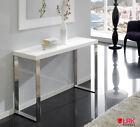 CON-02 Design Konsolentisch Hochglanz Konsole Tisch Flur Dupen Diele HGL Weiss