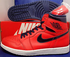 Nike Air Jordan 1 Retro High OG David Letterman SZ 9 ( 555088-606 )