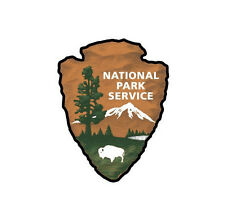 2x U.S. National Park Service Sticker Decal Car Truck Yosemite Zion Fox USA