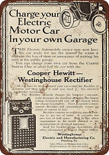 1910 Westinghouse Charge Your Electric Car in Your Garage Vintage Look Reproduct