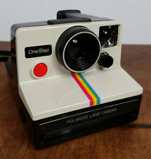 Mint Vintage Polaroid One Step Rainbow Flash Bar Tested