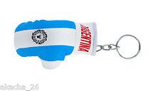 Porte clés Drapeau Argentine Mini gant de boxe clé clefs voiture moto NEUF