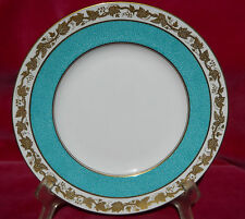 "WEDGWOOD WHITEHALL LUNCHEON PLATE S 9"" W3992 POWDER TURQUOISE RARE"