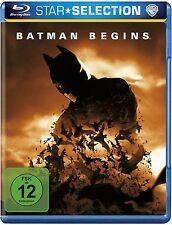 BATMAN BEGINS (Christian Bale, Liam Neeson) Blu-ray Disc NEU+OVP