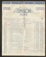 """CHATEAUROUX (36) PORCELAINE FAIENCE VERRERIE CRISTAL """"S. MILON"""" en 1939"""