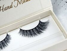 Long individual eyelashes mink lashes extension 100%mink fur strip false eyelash