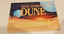1988 Notebooks of Frank Herbert's DUNE Softcover Book 1st edition NM