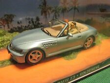 JAMES BOND CARS COLLECTION 009 BMW Z3 GOLDENEYE.SLIGHTLY CRACKED CASE