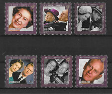 Gibraltar 2011 Lifetime of Service SG1390-1395   MNH
