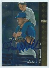 Tim Wallach signed 1994 Upper Deck card Los Angeles Dodgers autograph #81