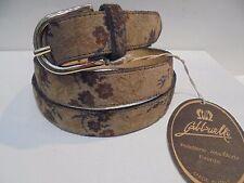 CINTURA donna GABBRIELLI Firenze in pelle scamosciata-VINTAGE-womens belt suede
