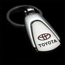 New Style Car Logo Creative Keychain Metal Key Chain Keyring Gift For Toyota