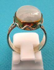 Anillo de plata esterlina 925 Con Larimar Natural Talla L 1/2 US 6 (rg2280)