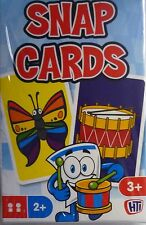 Tradional Games Pack of Colourful Snap Cards (36 Cards) Free Postage to the UK