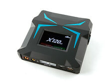 X120 120W Touch Screen Balance 6S Charger LiPo LiFe NiMh NiCd + power supply