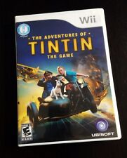 ADVENTURES OF TINTIN: THE GAME  - Nintendo Wii  Based On Steven Spielberg Movie
