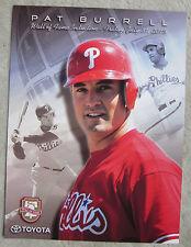 Pat Burrell Philadelphia Phillies 2015 Wall of Fame Photo Print SGA 7/31/15 Mt