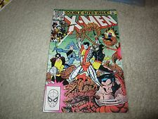 ORIGINAL X-MEN #166 1ST APPEARANCE OF LOCKHEED NEW MUTANTS MOVIE !!!