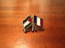 Two Flags Pin Badge