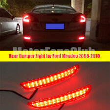 Rear Bumper Reflector Reverse Brake Stop Light Lamp For Ford Mondeo Fusion 08-10