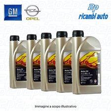 ..5 LITRI OLIO ORIGINALE GM OPEL DEXOS2 5w30 Acea C3 API SN/CF OFFERTISSIMA 5 LT