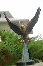 "Bald Eagle ""Symbol of America"" Bronze Statue 30""x21"""