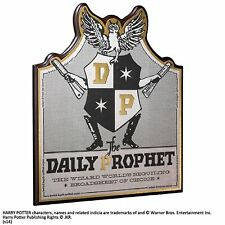 Harry Potter Daily Prophet Wall Plaque Sign Noble Collection Prop