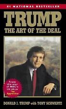 Trump: The Art of the Deal by Donald J. Trump (Mass Market Paperback) Brand New!
