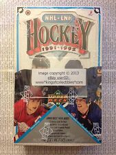 1991-92 Upper Deck HOCKEY High # Series 36 Pack FOIL WAX PACK BOX FACTORY SEALED