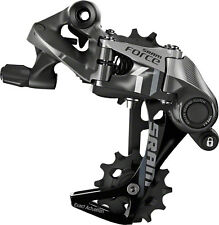 SRAM Force 1 Type 2.1 Long Cage Cyclecross Bike Rear Derailleur Black/ Gray 11sp