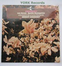 ECS 822 - STRAVINSKY - Les Noces / Appolo Musagetes ANSERMET - Ex Con LP Record