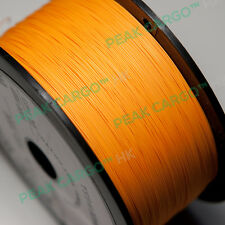 Orange 30 AWG 1000Ft Sliver Plated Wrapping Copper Wire Wrap Spool Reel PVDF USA