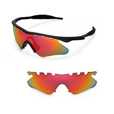 New WL Polarized Fire Red Vented Sunglasses Lenses For Oakley M Frame Heater
