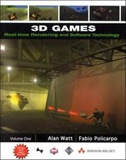 3D Games: Real-Time Rendering and Software Technology, Volume 1 (With CD-ROM) b