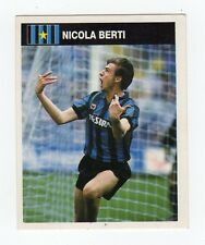 figurina CAMPIONI E CAMPIONATO 90/91 1990/91 numero 152 INTER BERTI