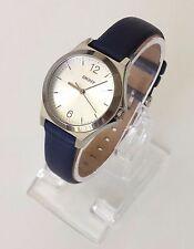 DKNY señora reloj azul plata cuero aproximadamente ny2480 nuevo embalaje original