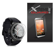 6Pack XtremeGuard HIDEF Screen Protector For Samsung Gear S3 Frontier Smartwatch