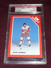 1983 Canadian Steve Yzerman Nationals Juniors Hockey PSA 9 MINT POP14 NONE ^