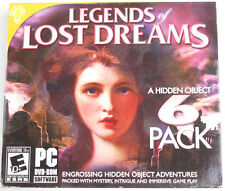 Brain Games Legends of Lost Dreams Engrossing Hidden Object Adventures 6 Pack